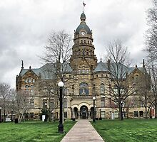 Trumbull County Courthouse by Monnie Ryan