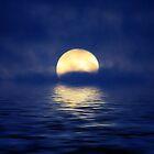 The Moon by nefetiti