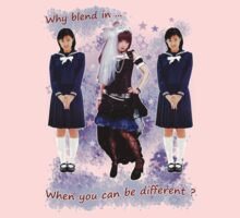 Nana Kitade - Why Blend In? by MissCake