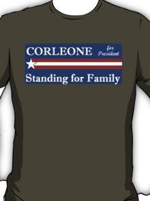 Corleone for President T-Shirt