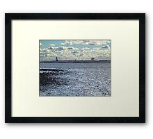 Devil's Island Lighthouse Framed Print