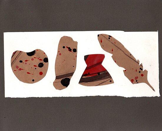 5 objects again #3 by zoe trap