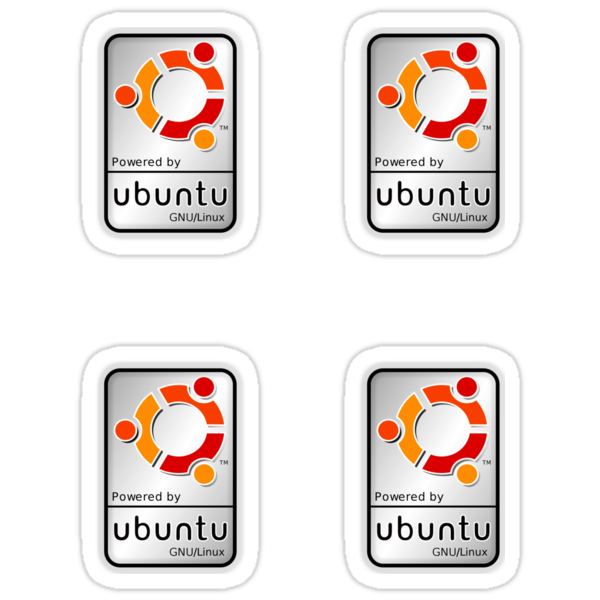 Powered by Ubutnu x 4 by robbrown