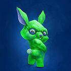 Green rabbit by Chuvabak