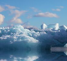 Blue Water Ice by John Dalkin