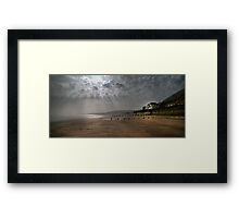Sunrise at Sandsend  Framed Print