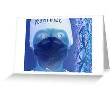 Zombie metaphorical Greeting Card