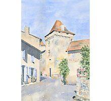 Le Vieux Château, Varaignes, France Photographic Print