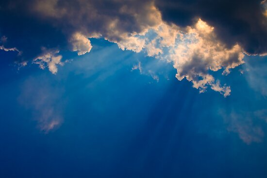 Blue Cloudy Sky Dark blue cloudy sky by medeu