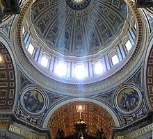 Cupola, St Peter's Basilica  #2 by Braedene