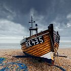 Fishing Boat by Nigel Bangert