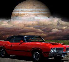 "1970 Oldsmobile 442 - ""Road to Jupiter"" by TeeMack"