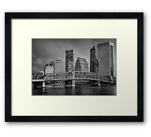 Cityscapes & Skylines Series Framed Print