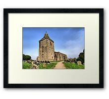 St Oswald's Church, Lythe Framed Print