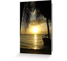 Jamaican Sunset, Negril 2 Greeting Card