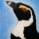 Jackass Penguin - ACEO by Joann Barrack