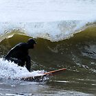 Winter Surfing in Maine by Jenny Webber