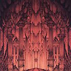 The Gates of Barad Dûr by Curtiss Shaffer