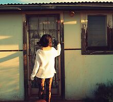 One Door Closes Another Opens. by Roxanne Smirnios