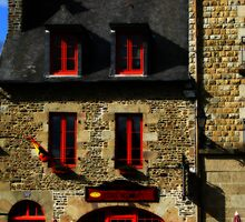 Creperie des Remparts - Fougeres by Marilyn Harris
