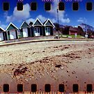 Beach Huts by redcow