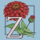 Z is for Zinnia by Stephanie Smith