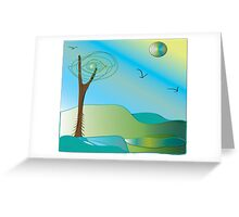 Restful.... Greeting Card