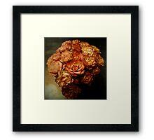 Roses for my love Framed Print