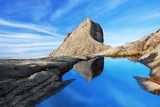 St. John's peak at Mount Kinabalu by MotHaiBaPhoto Dmitry & Olga
