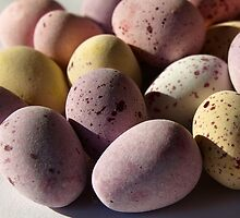 Small Easter Eggs by Tony Worrall