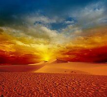 Desert sunset by MotHaiBaPhoto Dmitry & Olga