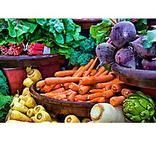 Vegetarian's Delight Photographic Print