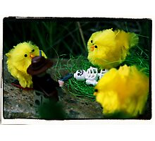 Indiana Jones and the Man-Eating Chicks Photographic Print