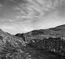 Precipice walk & sky by StephenRB