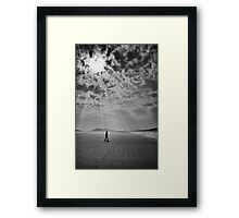 Stepping Through Sunshine Framed Print