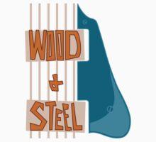 Celebrate Guitar: Wood & Steel T-Shirt