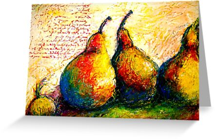 Pear Journal Page 5 by © Janis Zroback