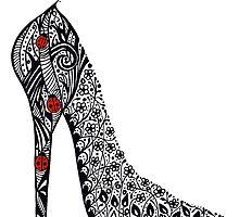Shoe Doodle by Jacqueline Eden