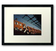 Urban: Colours of the morning Framed Print