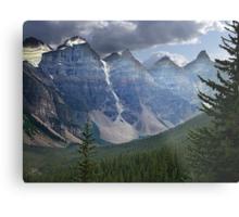 Valley of the Ten Peaks Metal Print