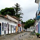 The streets of Paraty by Paige