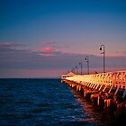 Sunset at Shorncliffe peir by John Kennedy