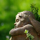 An Angel in the Garden by TriciaDanby