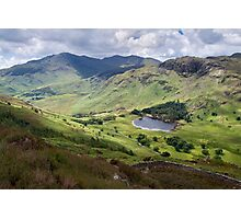 Little Langdale from Side Pike Photographic Print