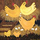 &#x27;Chookie House&#x27; - A little bit of Country... by Lisa Frances Judd ~ Original Australian Art