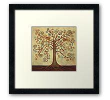 'Tree of Life' Acrylic Painting Framed Print