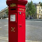 A Post Box of Distinction by hootonles