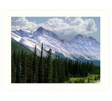 Introduction to Banff Art Print
