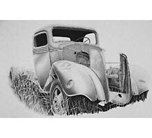 1937 Chev truck Photographic Print