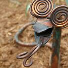 Copper-Headed Garden Greet by Christi Doolittle